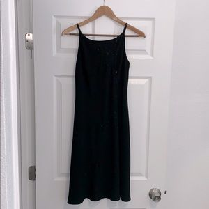 Jones New York Beaded Dress Midi Size 4